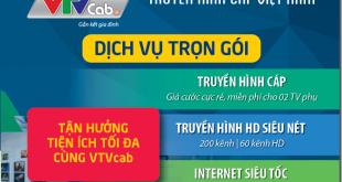 Lắp đặt combo truyền hình cáp và internet VTVnet trọn gói 250k/tháng, siêu tiết kiệm