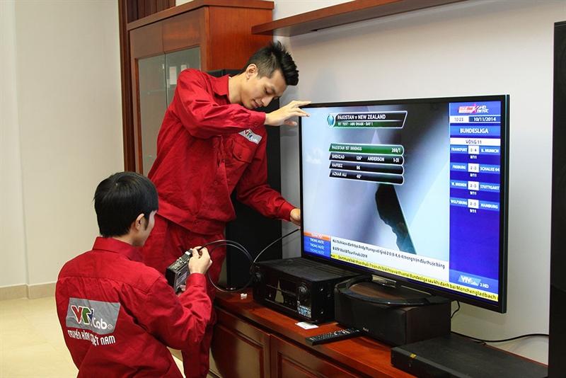 Truyền hình cáp HTVC với dịch vụ truyền hình chất lượng cao cùng đầu thu mặt đất HTVC