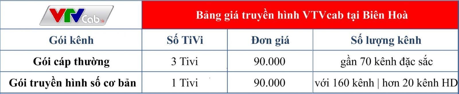 Lắp Đặt Truyền hình cáp Việt Nam VTVcab HD tại Biên Hòa