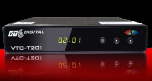 Đầu thu truyền hình kỹ thuật số DVB T2 VTC T201
